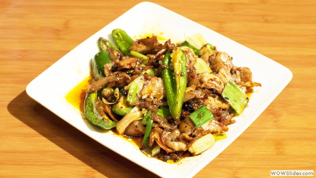 Szechuan Double Cooked Pork